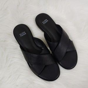 Eileen Fisher cape slide sandals